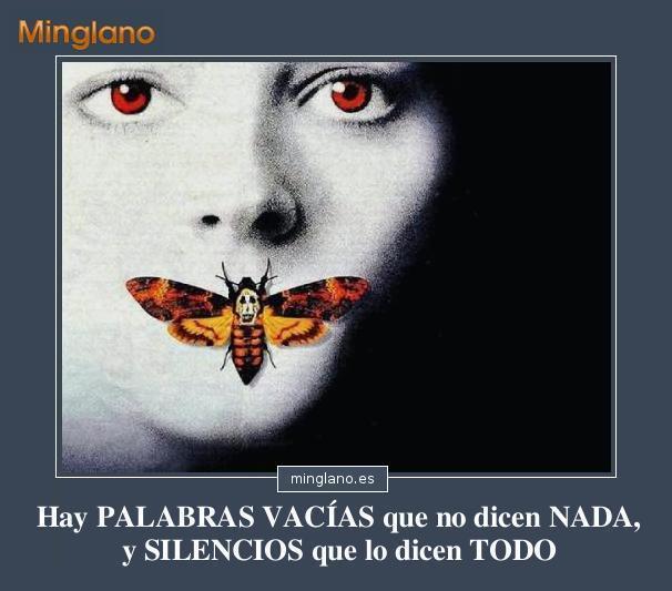 FRASES sobre las PALABRAS y el SILENCIO