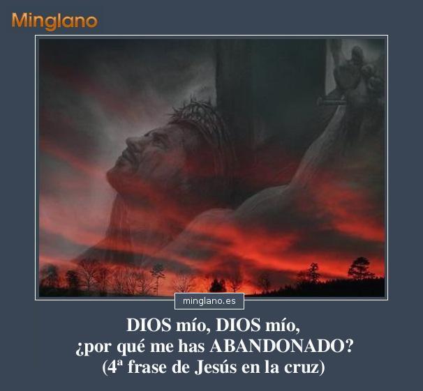 PALABRAS de JESÚS en la CRUZ ANTES de MORIR