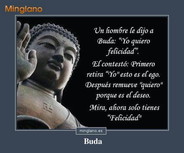 Palabras sabias de Buda sobre la felicidad