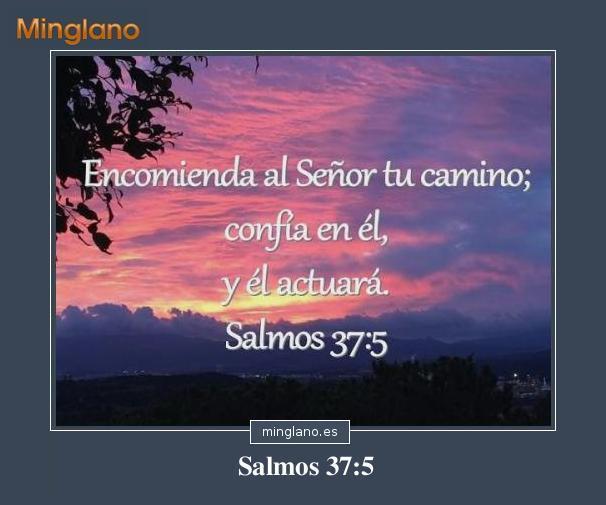 SALMOS sobre CONFIAR en DIOS