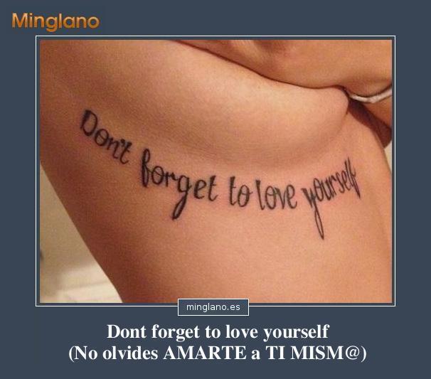 Frases para tatuajes en inglés para mujeres
