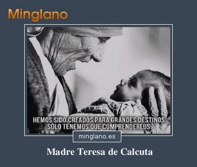 CITAS de la MADRE TERESA de CALCUTA