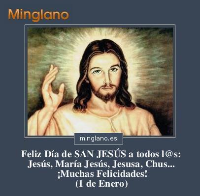 FELICITACIONES para SAN JESUS