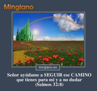 FRASES BÍBLICAS sobre SEGUIR el CAMINO