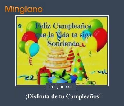 Felicitaciones con imágenes para cumpleaños