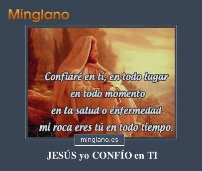 FRASES de CONFIANZA en JESÚS