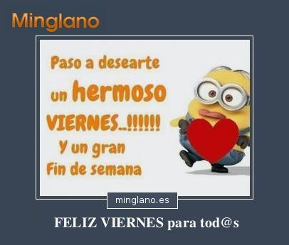 FRASES de FELIZ VIERNES y BUEN FIN de SEMANA