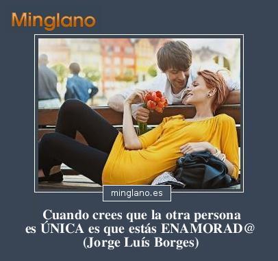 FRASES de JORGE LUÍS BORGES sobre el AMOR