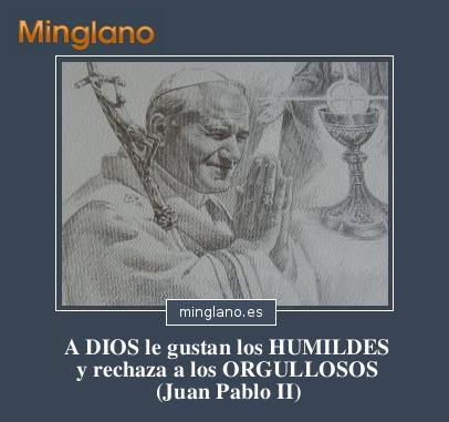 FRASES de JUAN PABLO II sobre la HUMILDAD