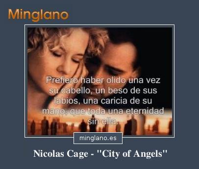 FRASES de la PELÍCULA CITY of ANGELS