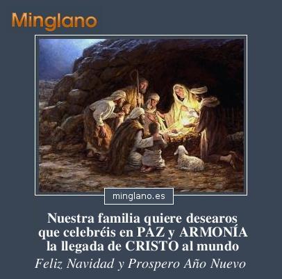 FELICITACIONES de NAVIDAD CRISTIANAS CATÓLICAS