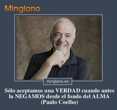 FRASES de PAULO COELHO sobre la VERDAD