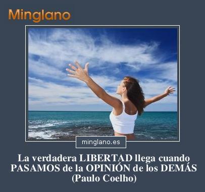 FRASES de SENTIRSE LIBERADO