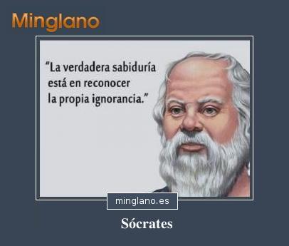 FRASES de SÓCRATES spbre la SABIDURÍA