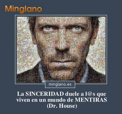 FRASES del DOCTOR HOUSE para FACEBOOK