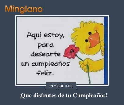 Felicitaciones de cumpleaños con imágenes
