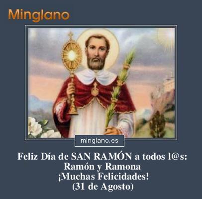 FELICITACIONES para SAN RAMÓN