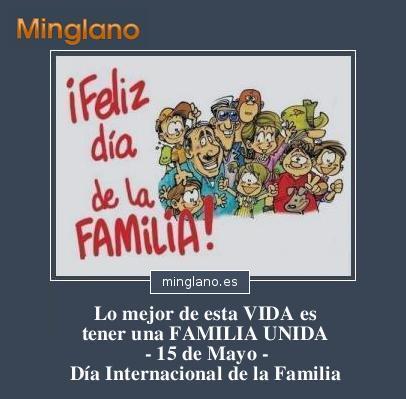 FRASES para el DÍA INTERNNACIONAL de la FAMILIA