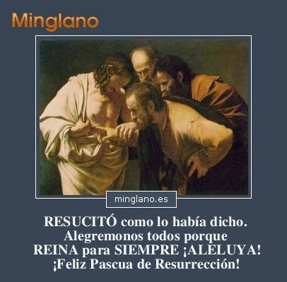 FRASES con IMÁGENES para PASCUAS de RESURRECCIÓN