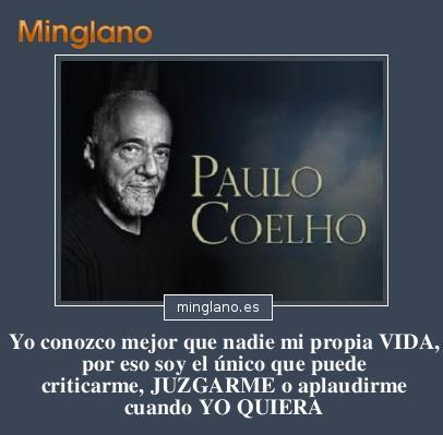 FRASES para PENSAR de PAULO COELHO