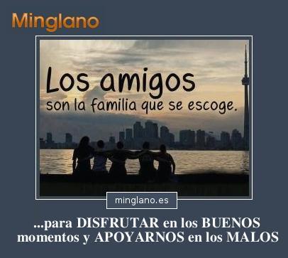FRASES sobre AMIGOS para lo BUENO y lo MALO