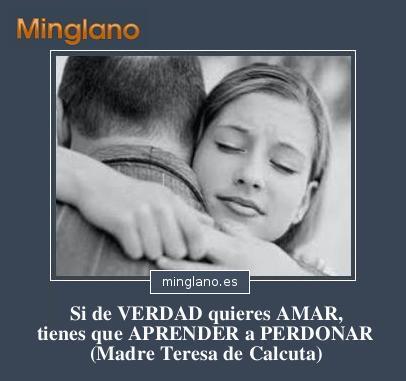 FRASES de TERESA de CALCUTA sobre PERDÓN