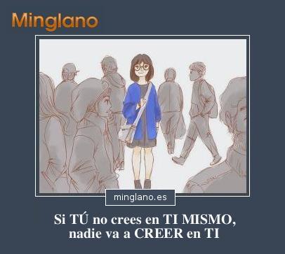 FRASES sobre CREER en UNO MISMO