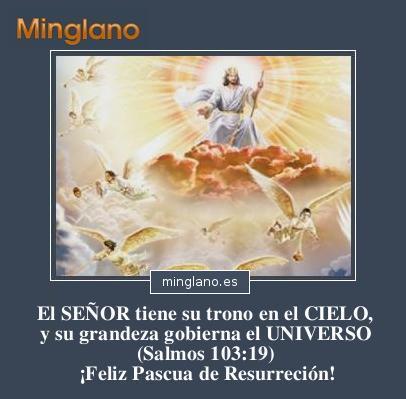 FELICITACIONES de PASCUA de RESURRECCIÓN
