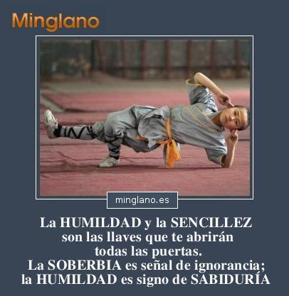 FRASES sobre la HUMILDAD y la SENCILLEZ
