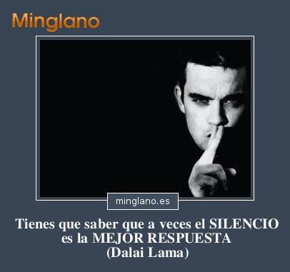 FRASES sobre MEJOR GUARDAR SILENCIO