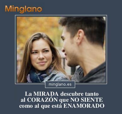 FRASES sobre MIRADAS PERDIDAS y ENAMORADAS