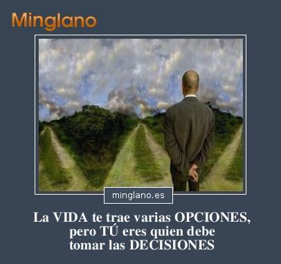 FRASES de TOMAR DECISIONES PROPIAS