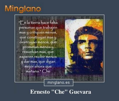 FRASES de ERNESTO CHE GUEVARA
