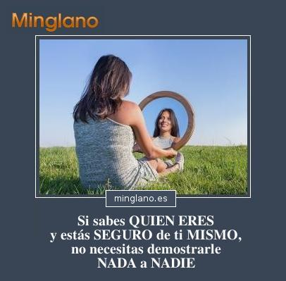 FRASES de ESTAR SEGURO de UNO MISMO