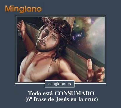 Frases de Jesucristo en la cruz