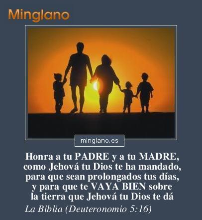 FRASES de la BIBLIA sobre los PADRES y las MADRES