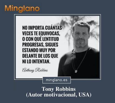 FRASES de MOTIVACIÓN TONY ROBBINS