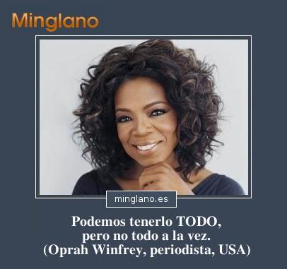 FRASES de OPRAH WINFREY en ESPAÑOL