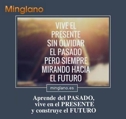 FRASES de PASADO PRESENTE y FUTURO