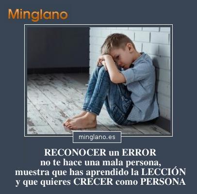 FRASES de RECONOCER tus ERRORES