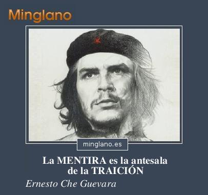 FRASES del CHE GUEVARA sobre la MENTIRA
