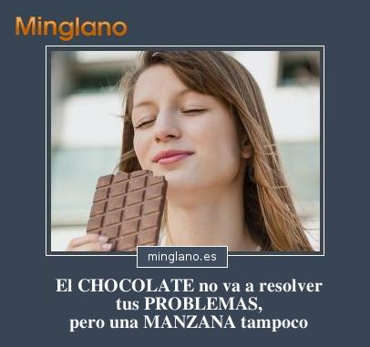 FRASES DIVERTIDAS CHOCOLATE