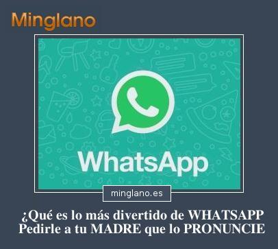 FRASES DIVERTIDAS sobre WHATSAPP