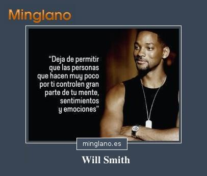 FRASES INTELIGENTES de WILL SMITH