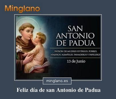 FRASES para FELICITAR el DÍA de SAN ANTONIO