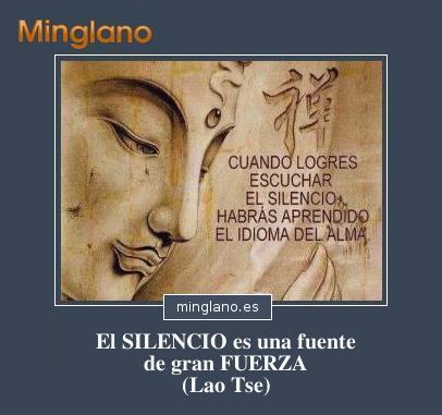FRASES sobre el SILENCIO INTERIOR