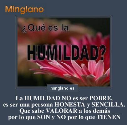 FRASES sobre la HUMILDAD y SENCILLEZ