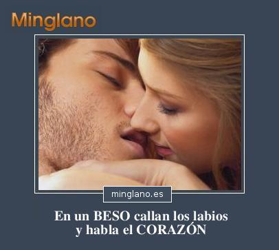 Frases de besos con imágenes