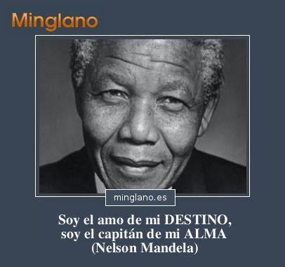 IMÁGENES con FRASES de NELSON MANDELA