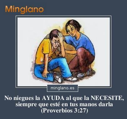 Proverbios de la Biblia de ayuda a los demás